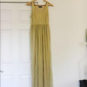 Boemo Anthropologie Dress Beaded Vest Small